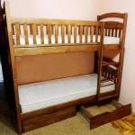 двоповерхове ліжко Карина ЗБ (знімні борти)