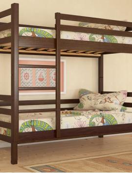 Кровать двухъяруснная - Кристи, из дерева