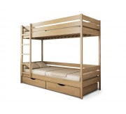 Кровать Двухъярусная - Засоня, Трансформер из дерева