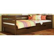 Нота - Односпальная кровать, Деревянная