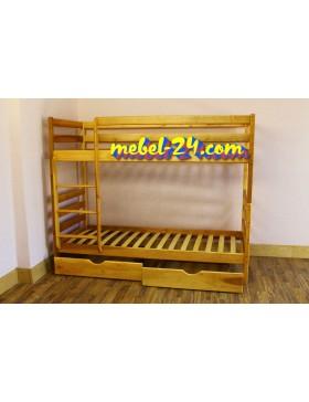 Дуэт - Двухъярусная кровать из дерева